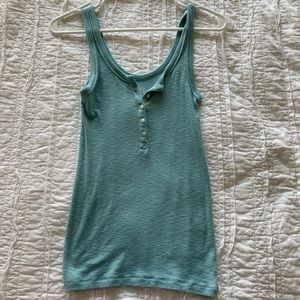 NWOT American eagle button front tank